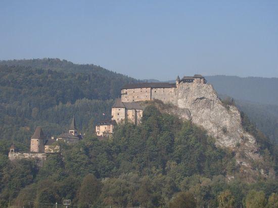 Obrázek Oravský hrad - plavba na pltích