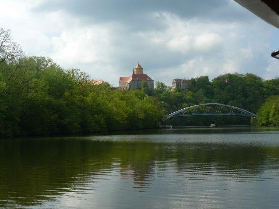 Obrázek Čebín - Kuřim - Brno (přehrada a město)